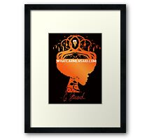 What Carmen Said- Signature Framed Print