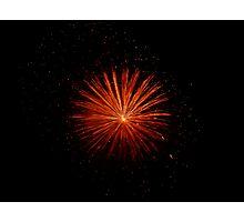 Firework 2 Photographic Print