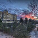 Sabatini Gardens Sunset by servalpe