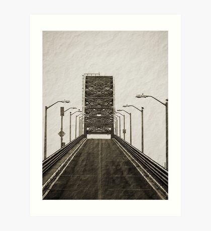 Robert Moses Causeway Bridge  Art Print