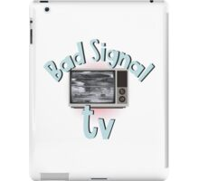 Bad signal tv iPad Case/Skin