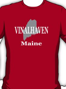 Vinalhaven Maine State City and Town Pride  T-Shirt