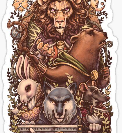 ARMELLO - Battle for the crown Sticker