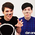 Dan & Phil/danisnotonfire & AmazingPhil by warmsugarshoppe