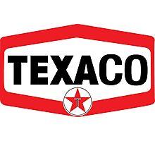 TEXACO OIL RACING VINTAGE LUBRICANT Photographic Print