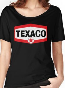 TEXACO OIL RACING VINTAGE LUBRICANT Women's Relaxed Fit T-Shirt