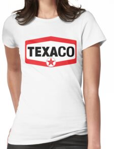 TEXACO OIL RACING VINTAGE LUBRICANT Womens Fitted T-Shirt