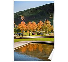 Autumn colours at Arthur's Seat Poster
