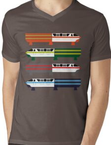 The Monorail System Mens V-Neck T-Shirt
