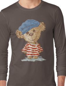 Teddy bear and clothes Long Sleeve T-Shirt
