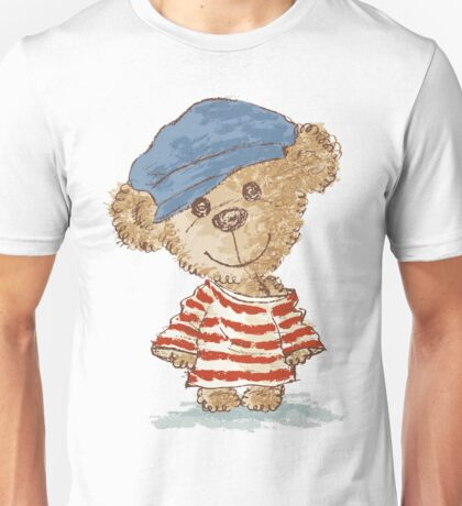 Teddy bear and clothes Unisex T-Shirt