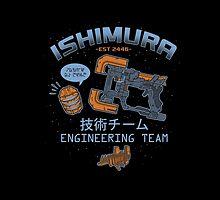 Ishimura Engineering by amandaflagg