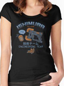 Ishimura Engineering Women's Fitted Scoop T-Shirt