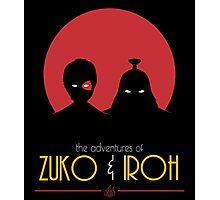 The Adventures of Zuko and Iroh Photographic Print