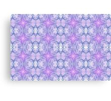 Purple Abstract Fractal Canvas Print