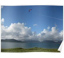 Flying high - Harris, Scotland Poster