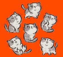 Six Impudent cats Kids Clothes
