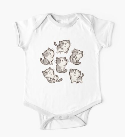Six Impudent cats Kids Clothes