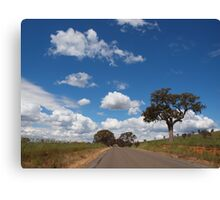 And The Road Goes On........... Canvas Print