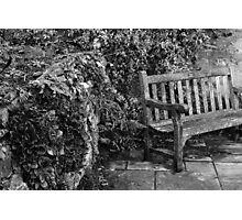 Old wooden chair Photographic Print