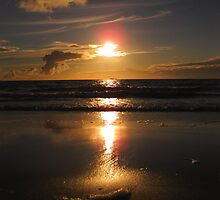 Beautiful beach & sunset - Berneray, Scotland by KerryElaine