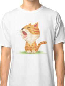 Tabby to yawn Classic T-Shirt
