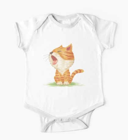 Tabby to yawn Kids Clothes