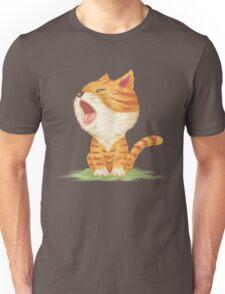 Tabby to yawn Unisex T-Shirt