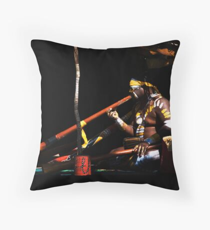 The Music Man Throw Pillow