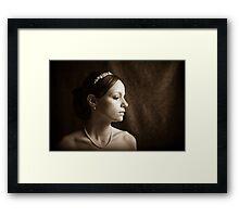 Bride 2 Framed Print