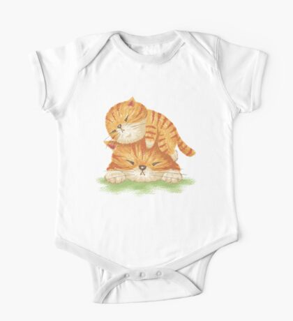 Family of tabby Kids Clothes