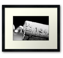 Cork 126 Framed Print