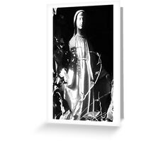 Mary in the Garden Greeting Card