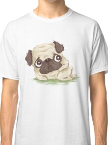 Pug shy Classic T-Shirt