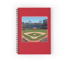 Texas Home of Baseball Fever Spiral Notebook
