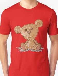 Teddy bear sitting Unisex T-Shirt