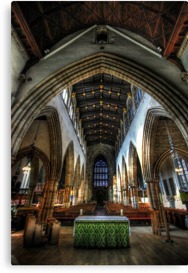 Loughborough Church Altar & Nave by Yhun Suarez