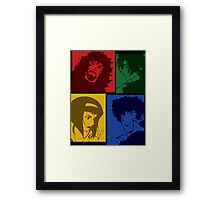 cowboy bebop knocking on heavens door movie anime manga shirt Framed Print