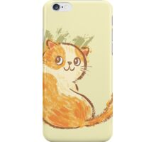 Smile of fat cat iPhone Case/Skin