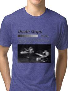 Death Grips NLDW CENSORED NOT ORIGINAL DESIGN Tri-blend T-Shirt