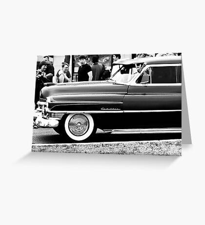 Classic Autos Greeting Card