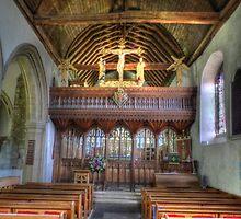 St.Marys Church, Kemsing by Kim Slater