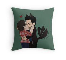 Werepup Love Throw Pillow
