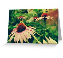 A Jungle of Flowers Greeting Card