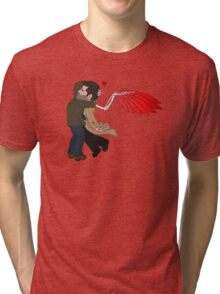 Red String Wings Tri-blend T-Shirt