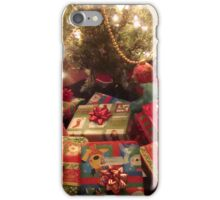 CHRISTMAS EVE - UNDER THE TREE ^ iPhone Case/Skin