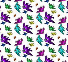 Birds  by Sookiesooker
