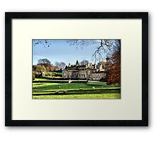 A House In The Country..... Framed Print