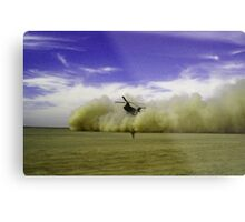 TICKET OUTTA HERE Metal Print
