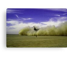 TICKET OUTTA HERE Canvas Print